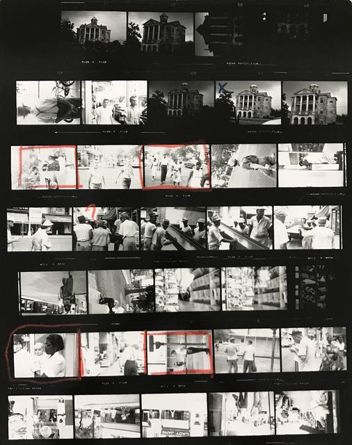 , 'Contact Sheet #13,' 2009, Danziger Gallery
