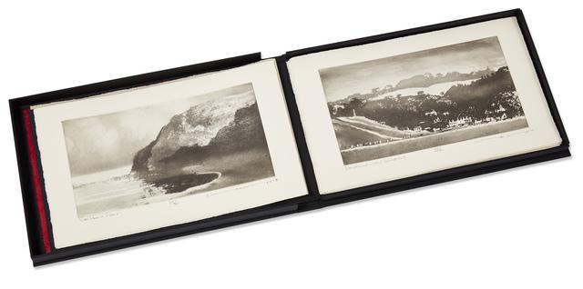 Norman Ackroyd, 'Saltburn to Flamborough', 2014, Books and Portfolios, Complete portfolio of ten etchings on 280gsm somerset rag, Roseberys