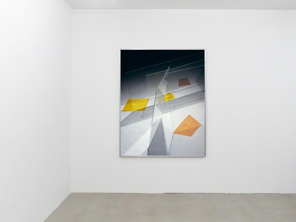 """installation view """"Staging Architecture"""", Kadel Willborn, Düsseldorf, Germany, 2016"""