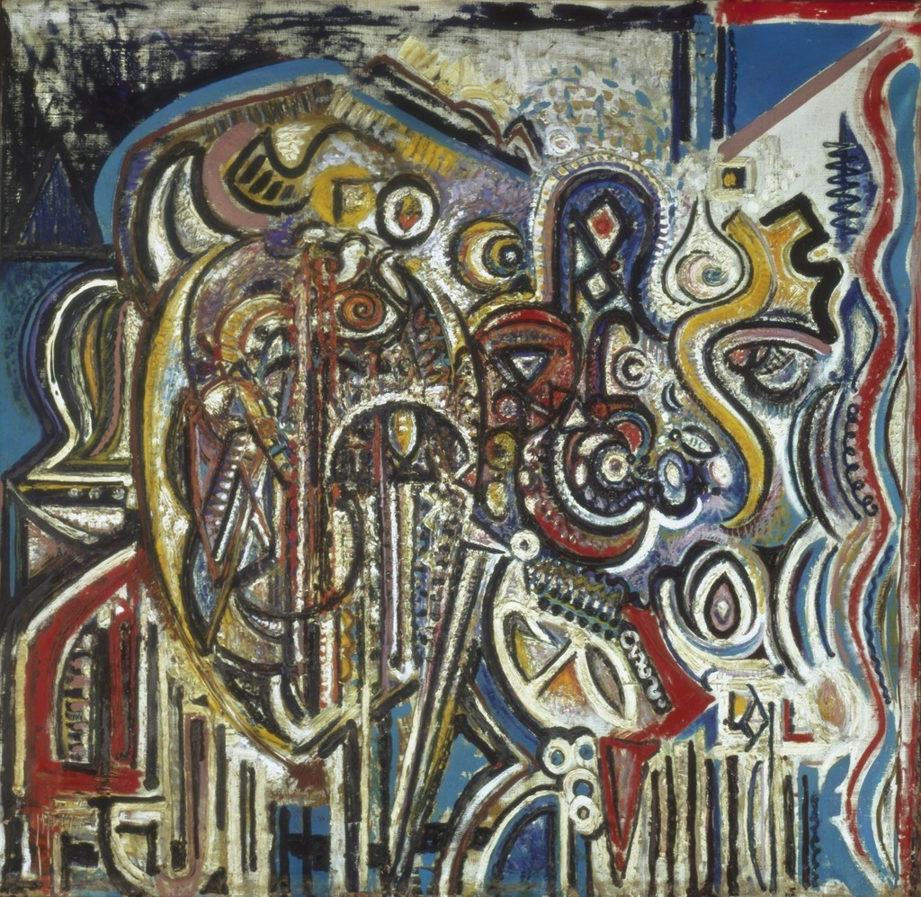 Image result for richard pousette-dart paintings