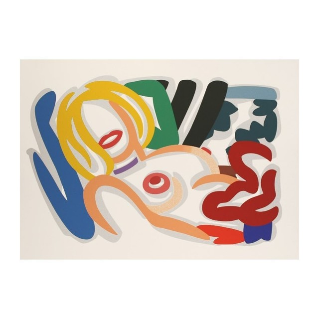 , 'Big Blonde with Choker,' 1992, David Benrimon Fine Art