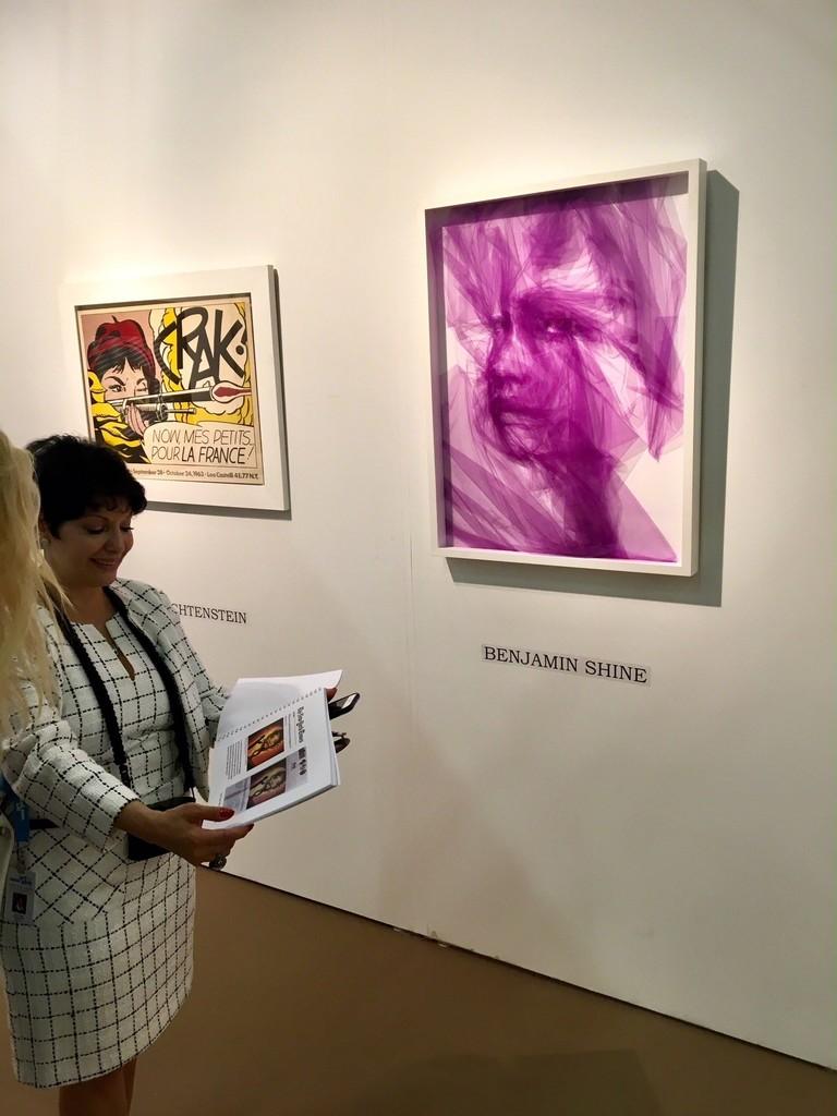 BOCCARA ART presented Benjamin Shine at at Art New York 2018
