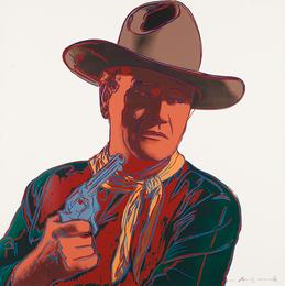 John Wayne, from Cowboys and Indians