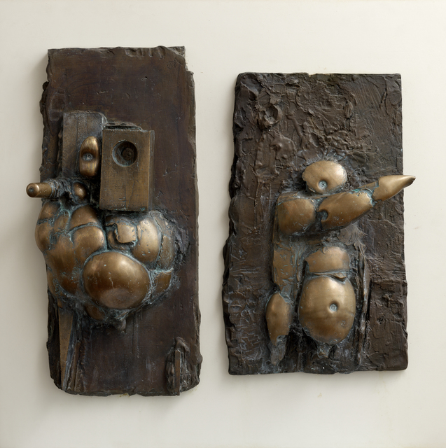 , 'The Directors (wall relief),' 1963, Pangolin