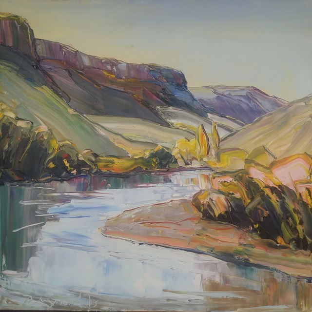 Robert Reynolds, 'Autumn Light, Rio Grande', 2019, Mirada Fine Art