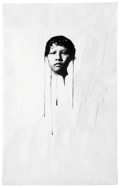 , 'Carl Orff,' 2008, Polígrafa Obra Gráfica
