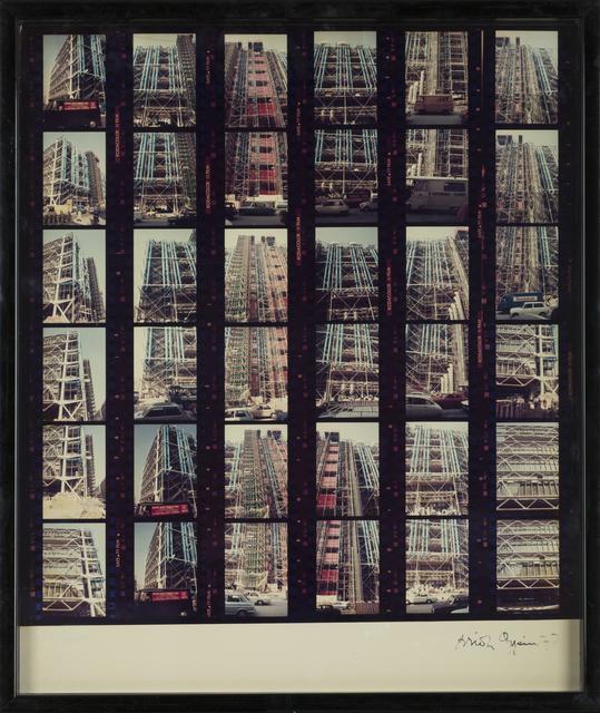 , 'Centre Pompidou  ,' Undated, October Gallery
