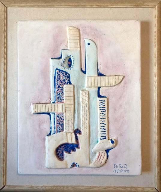 Alfréd Réth, 'Untitled', 1949, Sculpture, Enamel, Paint, Plaster, Lions Gallery