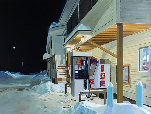 , 'Ice 2,' 2019, Eckert Fine Art