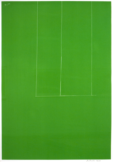 Robert Motherwell, 'Untitled-Green', 1971, Print, Screenprint on J.B. Green mould-made Double Elephant pape, Collectors Contemporary