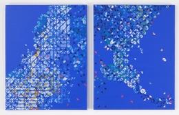 , 'Relation   of production, diptych,' 2012, Ruiz-Healy Art