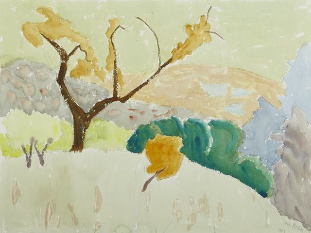 , '[Golden Landscape],' 1987, Childs Gallery