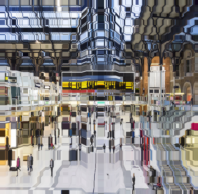 , 'Liverpool Street Station 18:32,' 2018, Winston Wächter Fine Art