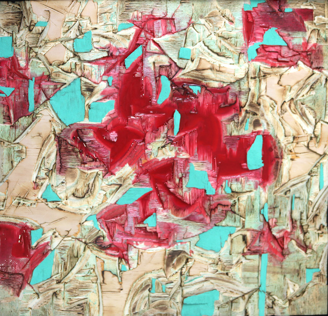 , 'Red Resin and Verdigris,' 2017, Eclectica Galleries