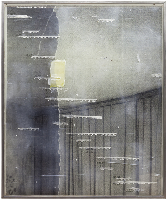 , 'doch doch dolch (Vorhang),' 2017, Jahn und Jahn