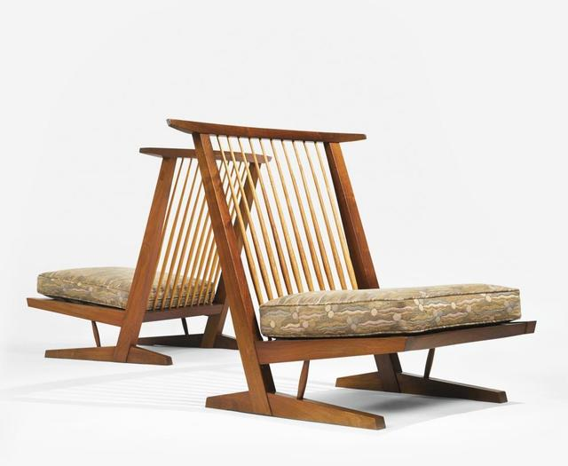 , 'Pair of Conoid Cushion Chairs ,' , Moderne Gallery