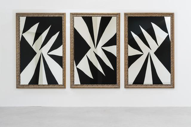 , 'Vortice-trittico (Vortex-triptyque),' 2014, Galleria Continua