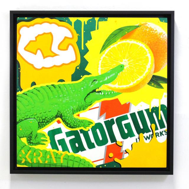 , 'Gator Gum,' 2016, Station 16 Gallery