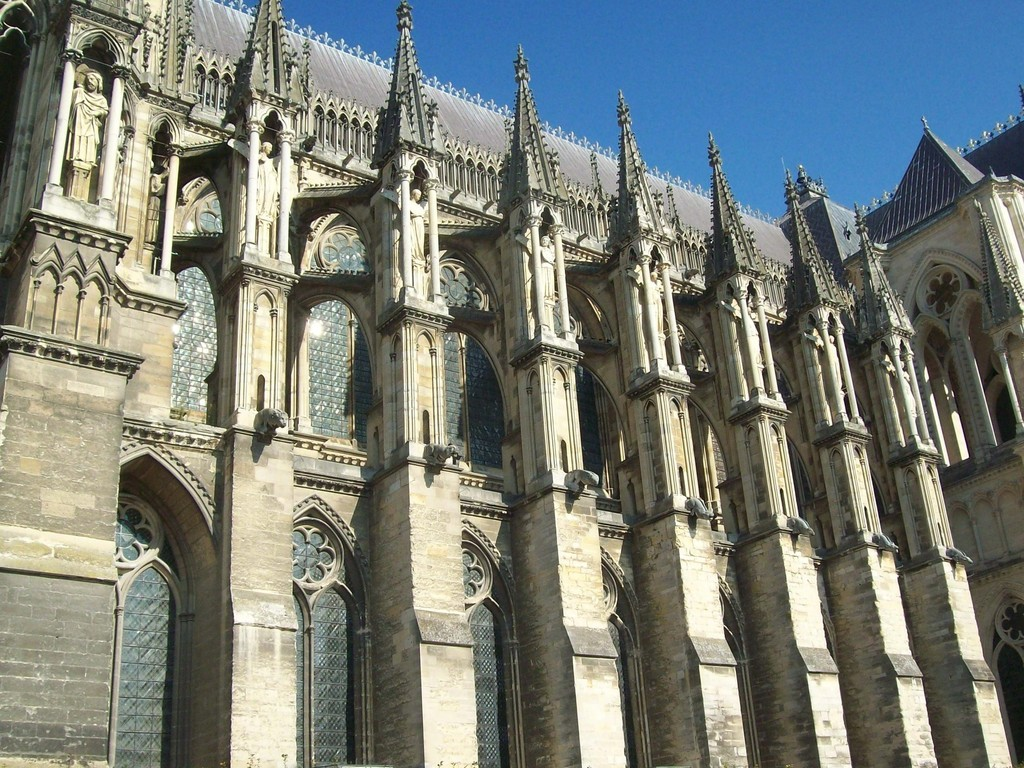 reims france reims cathedral 13th 15th century artsy. Black Bedroom Furniture Sets. Home Design Ideas