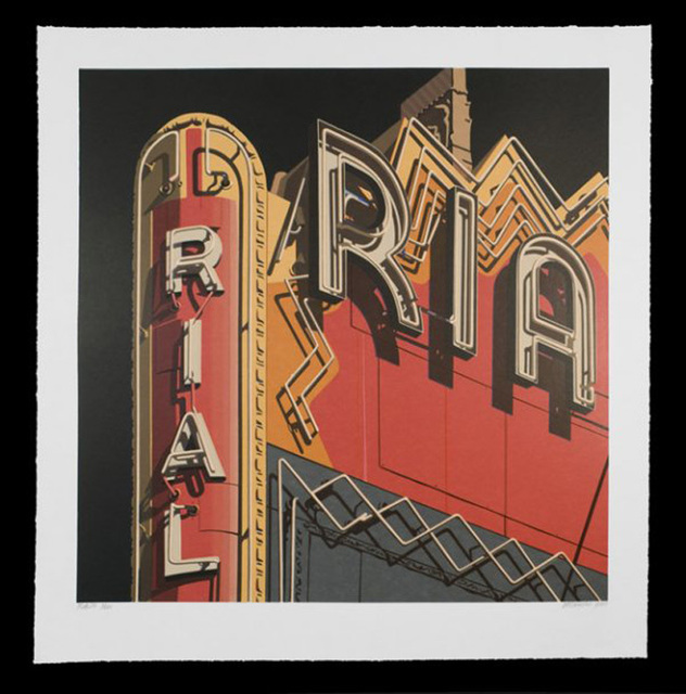 , 'Rialto, from American Signs Portfolio,' 2009, IFAC Arts
