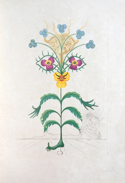 Salvador Dalí, 'Flordali (Flora Dalinae) (Michler & Löpsinger 227-236)', 1968, Print, Rare complete portfolio, Forum Auctions
