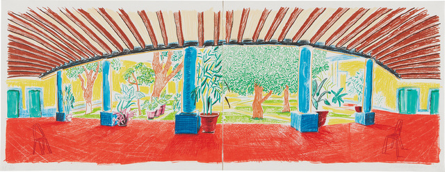 David Hockney, 'Hotel Acatlán, First Day, from the Moving Focus Series', 1985, Phillips