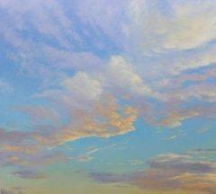 , 'Orange Clouds,' 2017, Andra Norris Gallery