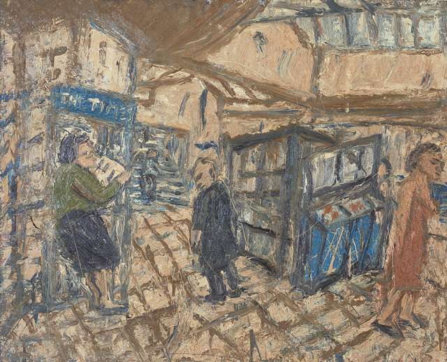 , 'Inside Kilburn Underground, Summer,' 1983, Marlborough London