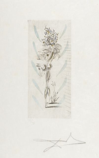 Salvador Dalí, 'Petits nus d'Apollinaire (M.&L.205)', 1967, Print, Etching with hand-colouring, Forum Auctions
