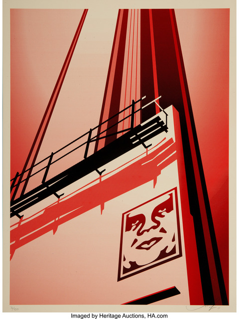 Shepard Fairey (OBEY), 'Sunset & Vine Billboard, from Billboard Series', 2011, Heritage Auctions
