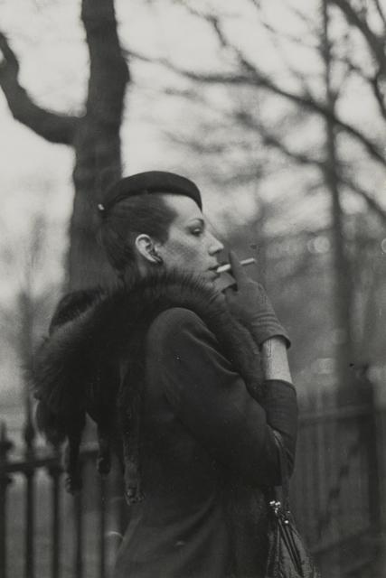 Nan Goldin, 'Ivy in the Boston Garden, Boston', 1973, Photography, Gelatin silver print, Matthew Marks Gallery