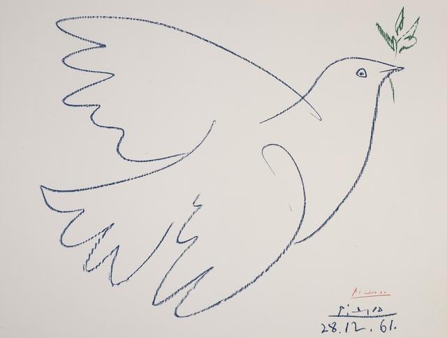Pablo Picasso, 'Colombe de la Paix (Czwiklitzer 207)', 1962, Forum Auctions