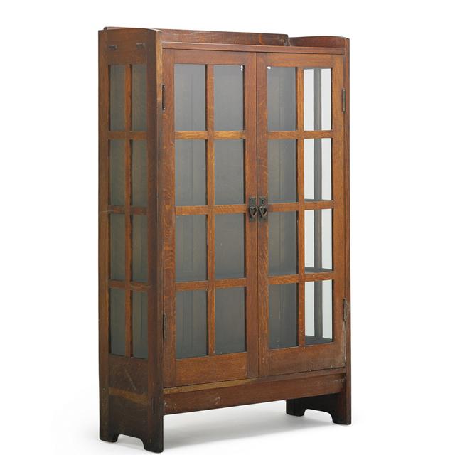 Gustav Stickley, 'Double-Door China Cabinet (No. 815), Eastwood, NY', ca. 1912, Rago/Wright