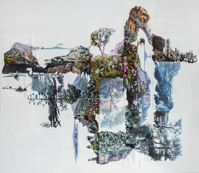 , 'Paesaggio del mito,' 2016, Umberto Di Marino