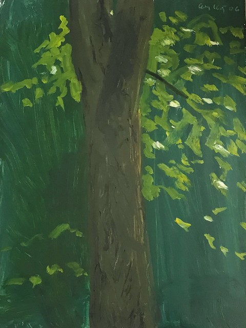 Alex Katz, 'Tree in Maine', 2006, Frank Fluegel Gallery
