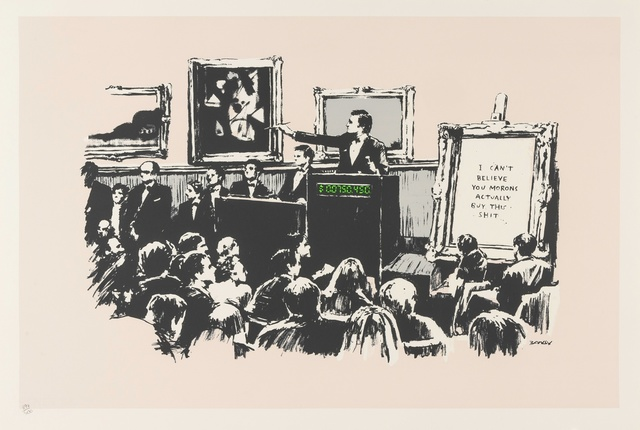 Banksy, 'Morons', 2007, Forum Auctions