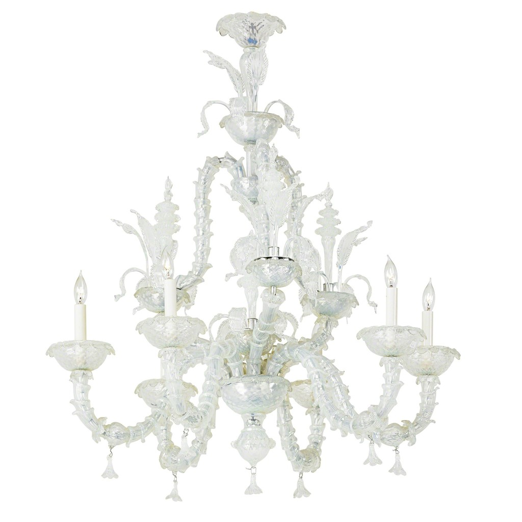 impressionism murano venetian suspension venice chandeliers lights en flower glass iris chandelier gogh manufactured flowers in van lamp