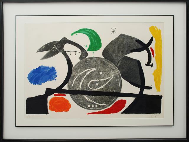 Joan Miró, 'Le croc à phynances I', 1971, Bogena Galerie