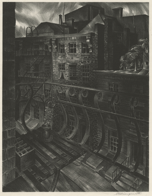, 'City Street,' 1933, Childs Gallery