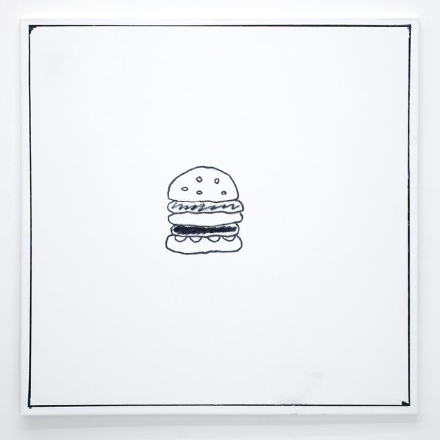 , 'Ben Jones Comics Panel #13 (Hamburger),' 2016, The Hole