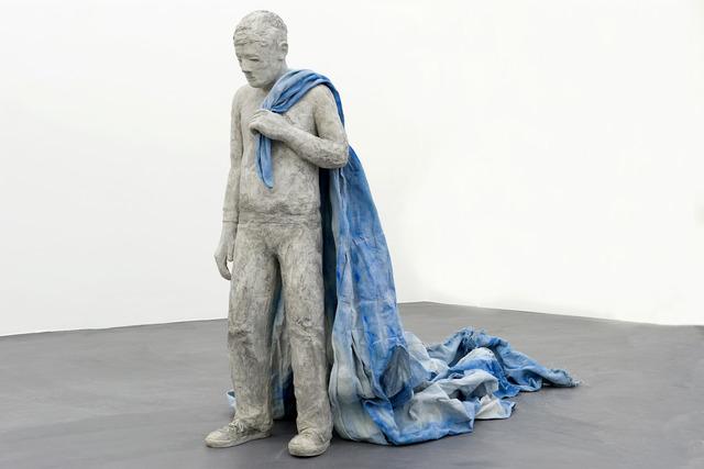 Hannah Greely, 'Little Falls', 2012, Sculpture, UltarCal gypsum cement, rebar, canvas, Galerie Bob van Orsouw