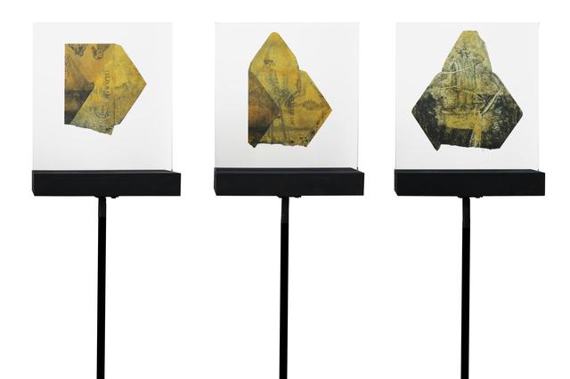, 'Waterlogged Memories I,II and III,' 2018, Eclectica Galleries