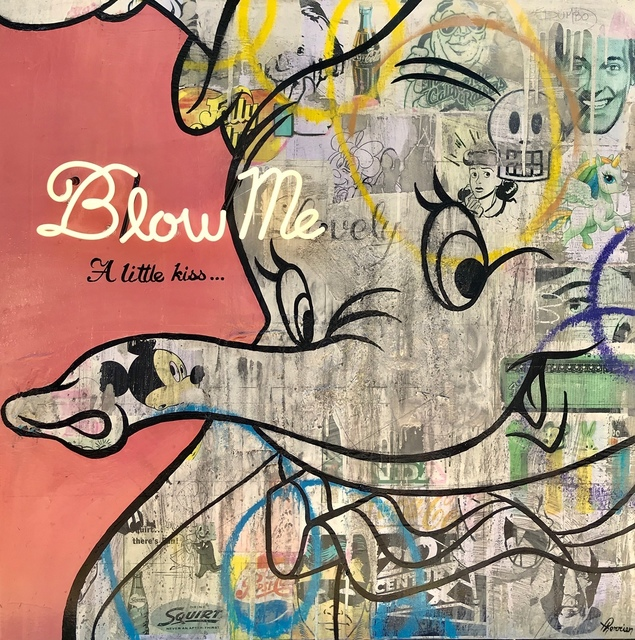 , 'Blow Me,' 2018, Galerie LeRoyer