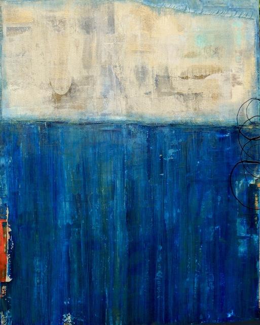 , 'Bluer than Blue,' 2018, M.A. Doran Gallery