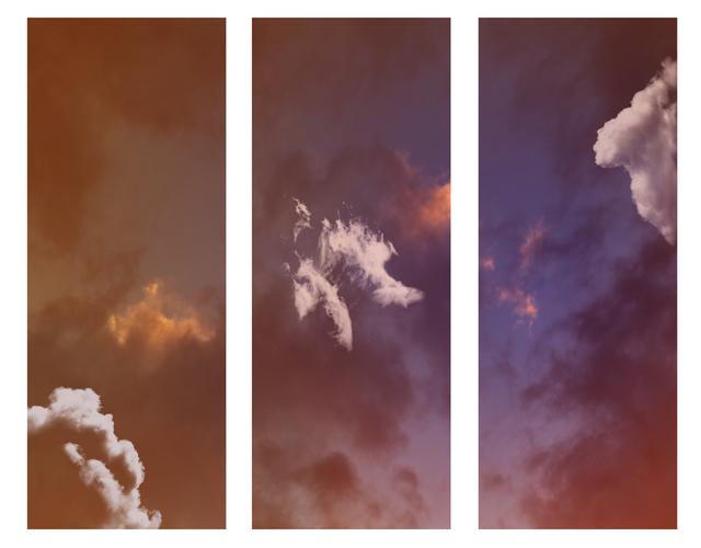 , 'Single Cloud (Triptych),' 2018, Winston Wächter Fine Art
