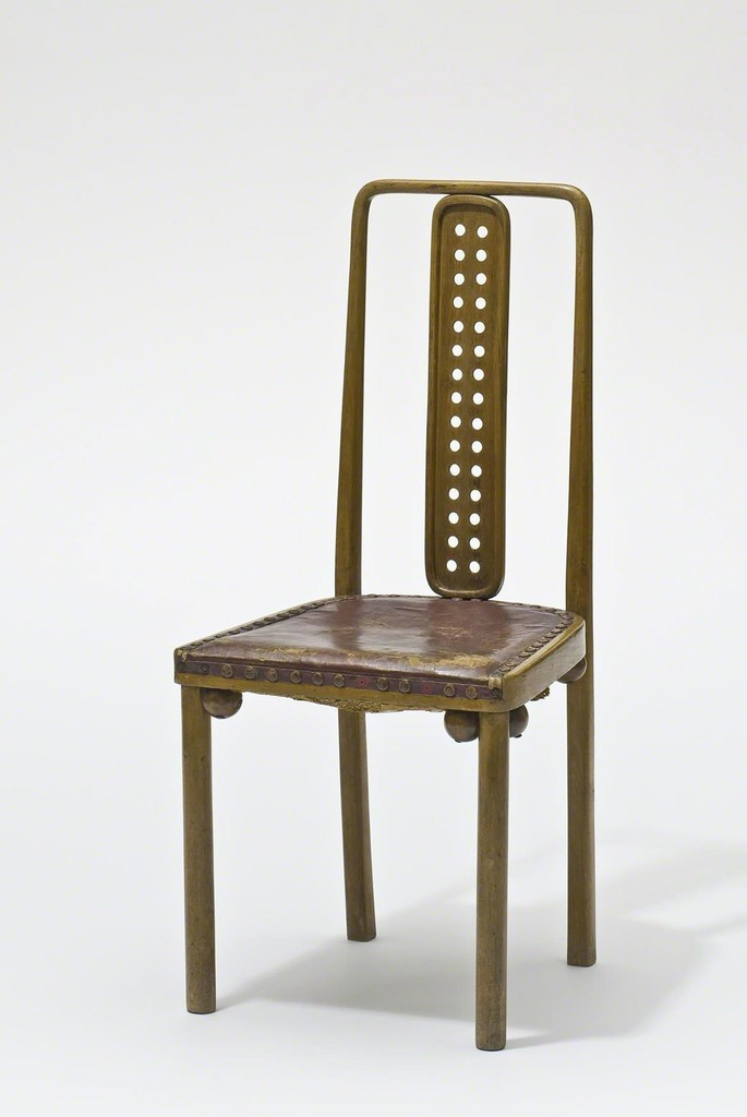 BENTWOOD AND BEYOND: Thonet and Modern Furniture Design Josef Hoffmann, Chair, model no. 322, for the dining hall of the Sanatorium Westend in Purkersdorf, Vienna, 1904 © MAK/Georg Mayer