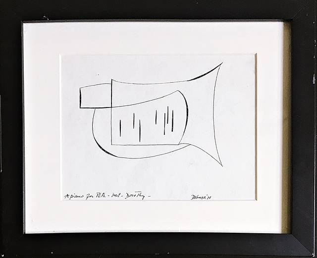 Dorothy Dehner, 'A Piano for Pete ', 1975, Alpha 137 Gallery
