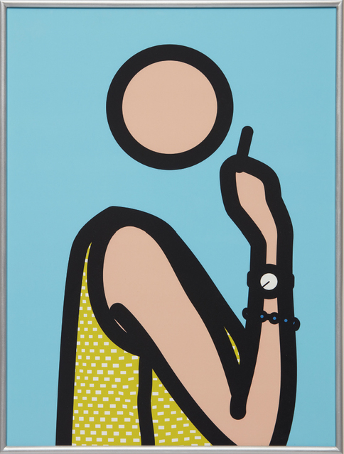 Julian Opie, 'Ruth With Cigarette', 2005-06, Phillips