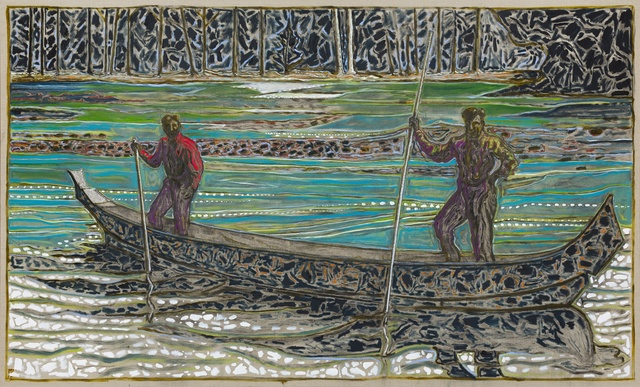 , 'Skeena River (1912),' 2015, Carl Freedman Gallery