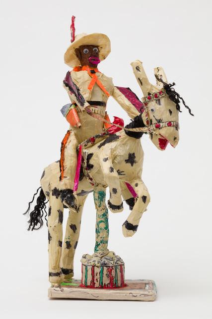 , 'Untitled (Cowboy Orange Fringe Riding Horse),' 2016-2018, The Good Luck Gallery